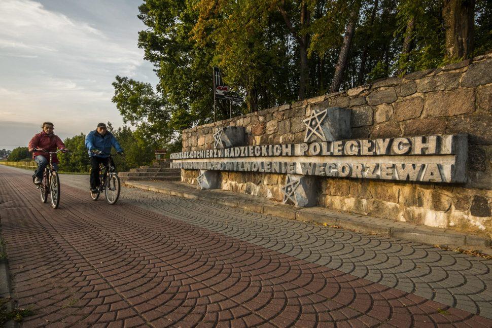 Cmentarz radziecki przy wjeździe do Węgorzewa