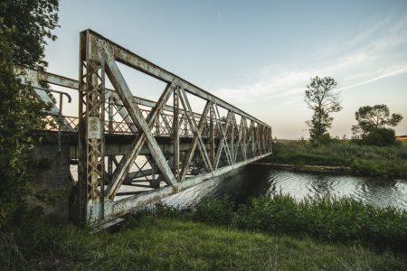 Most kratownicowy w Sypitkach